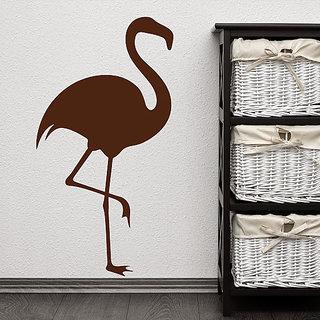 DeStudio Pelican Bird Retro 80S Animal Wall Sticker Small Size Wall Decals  Stickers  (45cms x 51cms)