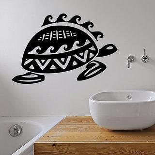 DeStudio Sea Turtle Tortoise Water Bath Swim Animal Four Wall Sticker TINY Size Wall Decals  Stickers  (45cms x 60cms)