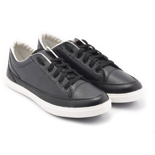 Boysons stylish black casual shoes (opers46-blk)