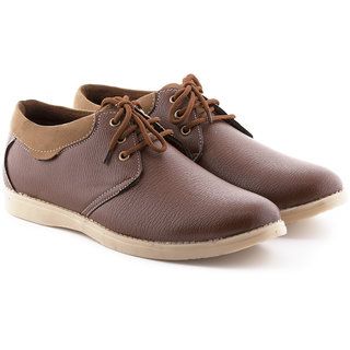 Boysons tan leather corporate casuals (opers56-tan)