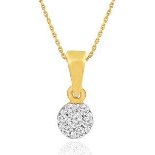 Nirvana Diamond Designer 18K Yellow Gold Diamond Pendant