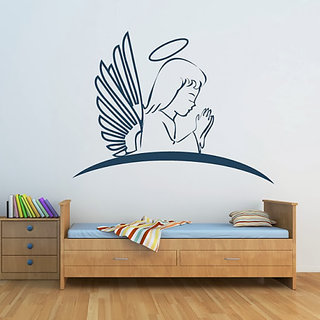 DeStudio Angel Praying TINY Size Wall Decals  Stickers  (45cms x 60cms)