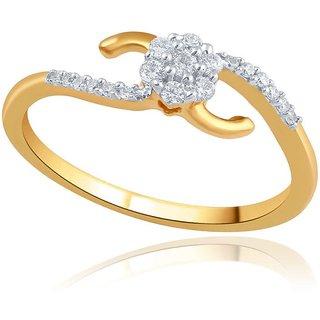 Nirvana Diamond Designer 18K Yellow Gold Diamond Ring
