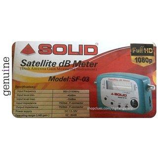 Buy Buy Satellite finder db meter for DTH Installation Dish