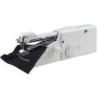 Handheld Sewing Machine Portable Cordless Stitch Anywhere Quick Repairs