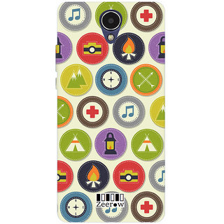 Zeerow AE34 Back Cover for Micromax Q417
