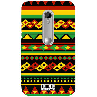 Zeerow AL39 Back Cover for Moto X Play