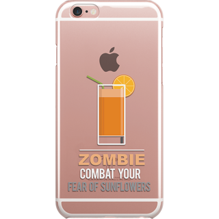 DailyObjects Zombie Clear Case For iPhone 6S
