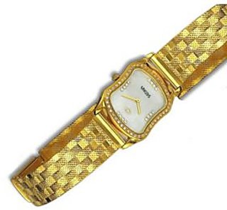 Real Gold Gents Wrist Watch
