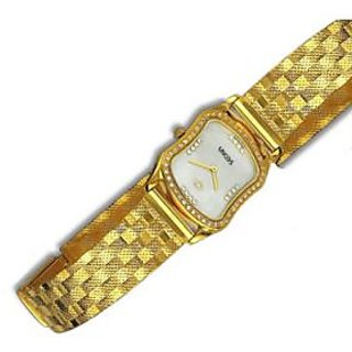 Men S Real Gold Gents Wrist Watch