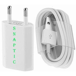 Snaptic USB Travel Charger for Karbonn Smart A10