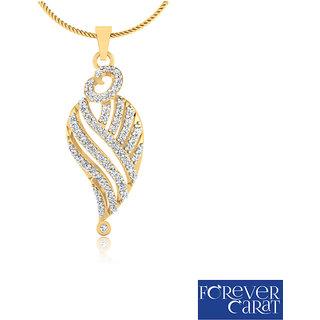 0.27ct Natural Diamonds Pendant 925 Sterling Silver Diamond Jewellery P-0176