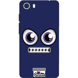 HI5OUTLET Premium Quality Printed Back Case Cover For Micromax Unite 3 Q372 Design 103