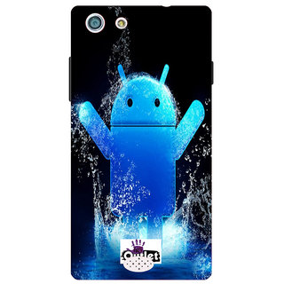 HI5OUTLET Premium Quality Printed Back Case Cover For Oppo Neo 5 Design 40