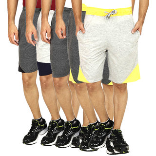 Rakshita Collection solid Shorts set of 5