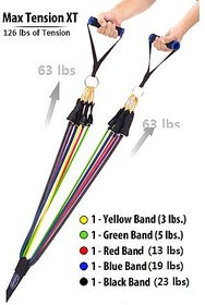 New Dsg 11Pcs Bodylastics Resistance Bands Set