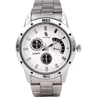 Costa  CS-3001 Quirky White Analog Watch - For Boys, Men