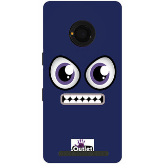 HI5OUTLET Premium Quality Printed Back Case Cover For Micromax Yu Yunique Design 103