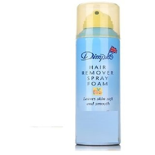 Hair Remover Spray Foam Dimples Lemon Fresh Hair Remover Spray Foam(200 ml)