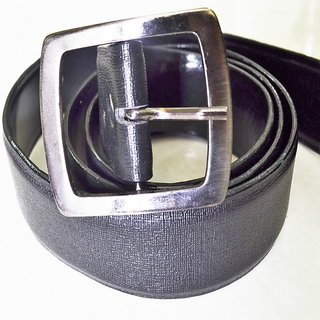 Mens Leather Belt - Black