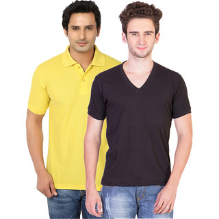 KeepSake Combo of Polo and V-neck T-shirt