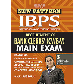 IBPS Recruitment of Bank Clerks CWE - V Main Exam Study Material Books