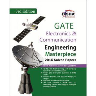 GATE Electronics  Communication Engineering Masterpiece 2015 with 4 Mock Test