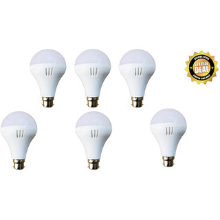 9 WATT LED BULB(PACK OF 6),PREMIUM QUALITY, ULTRA BRIGHT, LONG LIFE,ENERGY SAVER