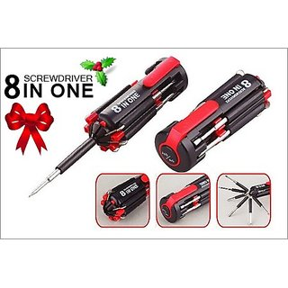 Multi Screwdriver with Powerful Torch