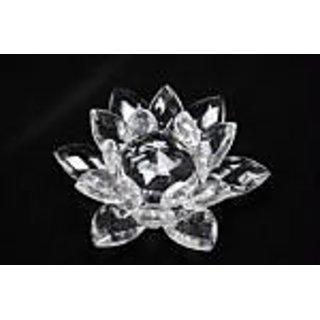 Crystal Lotus Medium Lotus Fengshui Lotus Flower Feng Shui Vastu