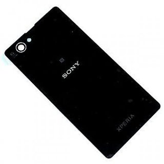 huge selection of a9885 ecbce Sony Xperia Z1 Compact Battery Door Back Panel Cover - Black