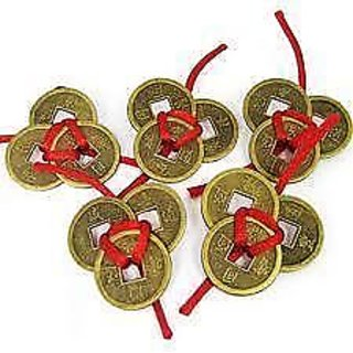 Feng shui / Vastu set of 15 Lucky Coins