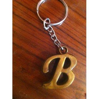 Alphabet  Wooden Keychain Key Ring  buy 3 for99