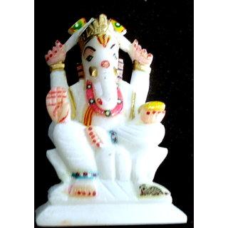 Chaklu Paklu Marbel Stone Ganesh