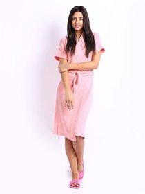 Superior Bathrobe Gown (Pink)
