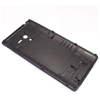 buy online e43b5 e0999 Buy Back Cover For Sony Xperia ZL C6502 - Black Online @ ₹609 from ...