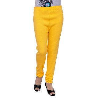 S Redish Yellow Wollen Leggings ( With Mayani) (Yellow W)