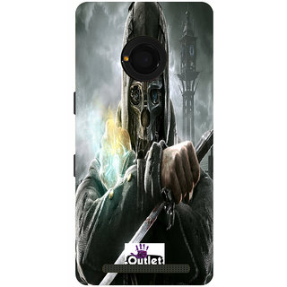 HI5OUTLET Premium Quality Printed Back Case Cover For Micromax Yu Yunique Design 13
