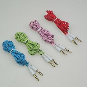 3.5MM AUX CABLE MALE TO MALE
