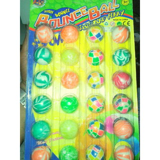 hi-bouncing balls (24pcs pack)