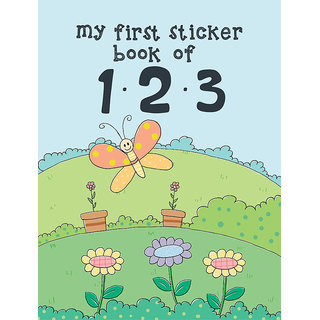 My First Sticker Book of 123