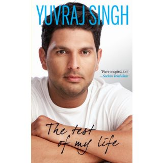 The Test ofMyLife From Cricket to Cancer and Back by Yuvraj Singh (English  Hardcover)