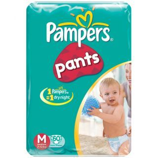Pampers Baby Dry Pants Medium - 60 Pieces