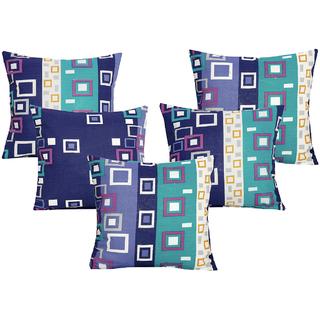 DIVINE CASA 100 Cotton Set Of 5 Cushion CoversCUSHION119