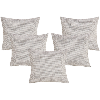 DIVINE CASA 100 Cotton Set Of 5 Cushion CoversCUSHION121