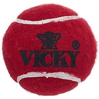 Vicky Tennis Cricket Balls 3Pcs.