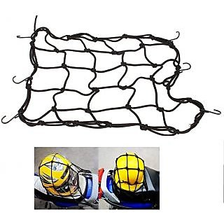 Motorcycle Bungee Cargo Net Helmet Luggage
