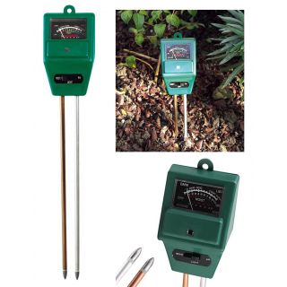 Gadget Heros Plant Care New 3 in 1 Hydroponic Plants Soil Moisture PH Light Meter, Tester.