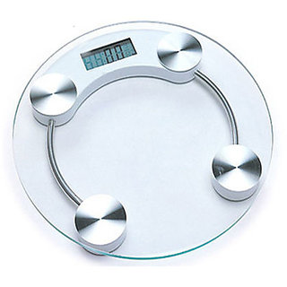 Digital Weighing Scale- Transparent Glass