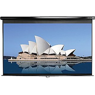 6x6 WALL TYPE PROJECTOR SCREEN IN HIGH GAIN FABRIC(IMPORTED USA A+++++ GRADE)